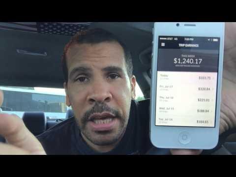 UBER-HOW MUCH MONEY I MAKE DRIVING FOR UBER