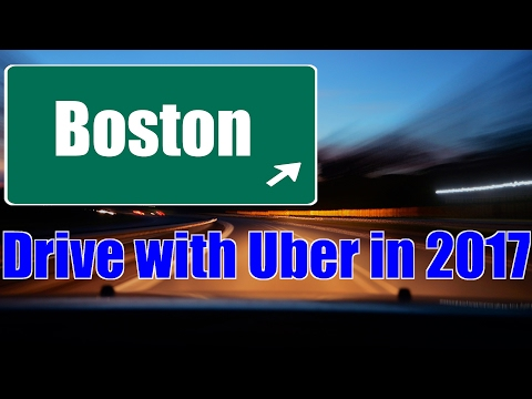 Boston – Drive with Uber in 2017 & Make Money on your Own Schedule