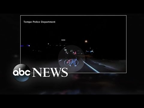 New video shows moments before fatal self-driving Uber crash