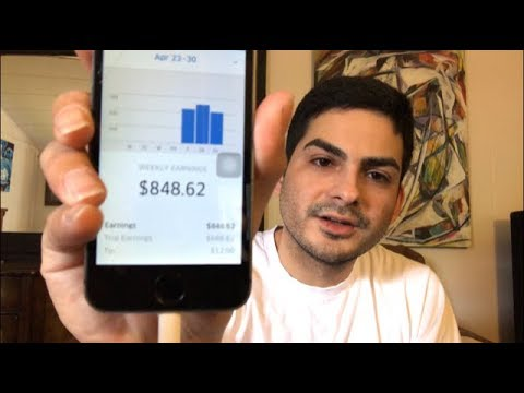 How Much I Make Driving for UBER in Los Angeles