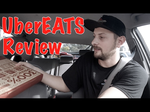 Driving for UberEATS for the First Time – Review