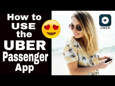 Uber Passenger App-How to Use The Uber App-Step-by-Step Tutorial 2018