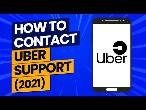 6 Ways To contact Uber Support In 2021
